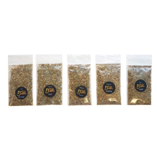 Sample bags of Dokha tobacco - Enjoy Dokha