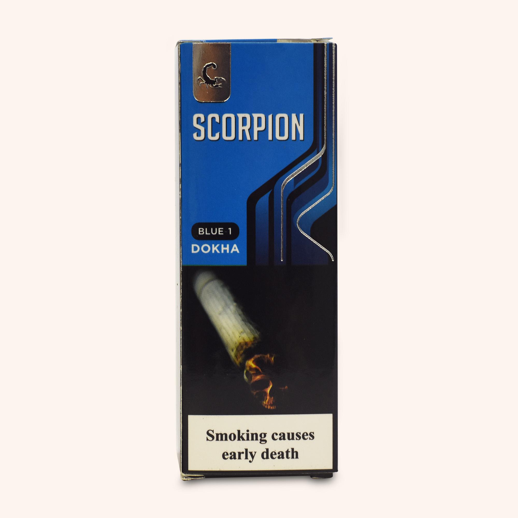 Scorpion Blue Dokha