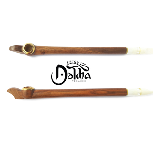Gold Cherry 303 - Arabic Medwakh Tobacco Pipe - Enjoy Dokha USA