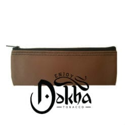 Pétite Brown Leather Pouch - Enjoy Dokha