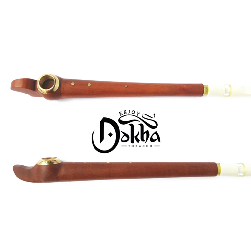 Gold Maple 404 - Arabic Medwakh Tobacco Pipe - Enjoy Dokha USA