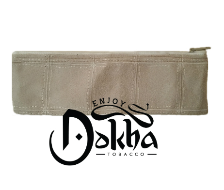 Enjoy Dokha Cream Leather Pouch