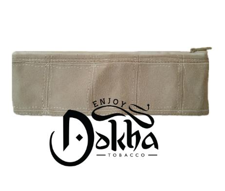 Enjoy Dokha Cream Leather Pouch