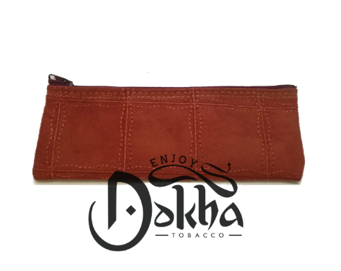 Enjoy Dokha Suede Terracotta Pouch