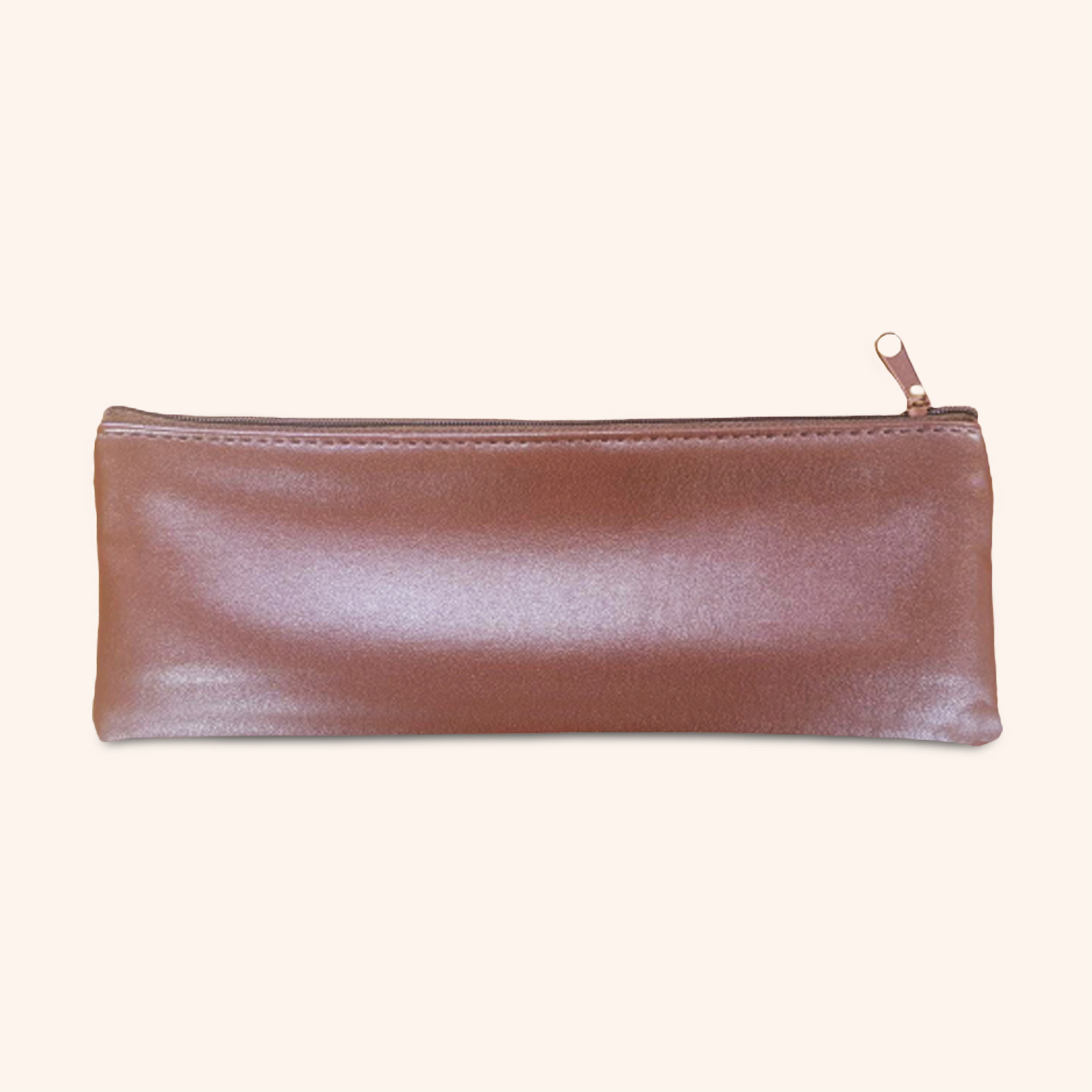 Grande Brown Faux Leather Pouches