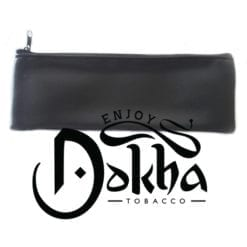 Grande Black Faux Leather Pouches