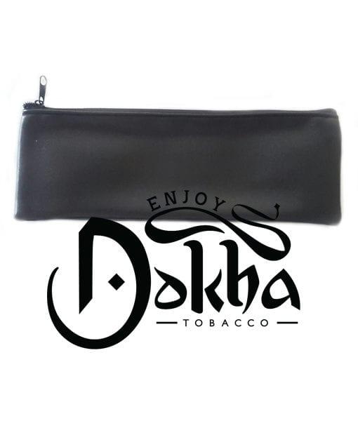 Grande Black Faux Leather Pouch 1 - 510 x 600 - Enjoy Dokha