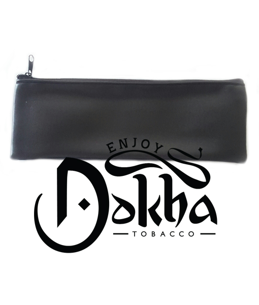 Grande Black Faux tobacco pouch - Enjoy DOkha USA