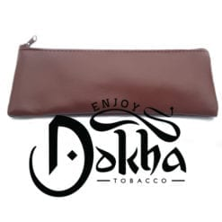 Grande Brown Faux Leather Pouch 1 - 510 x 600 - Enjoy Dokha