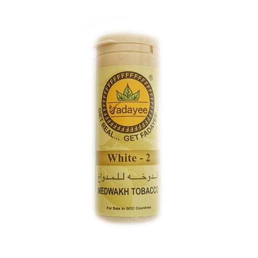 Fadayee White 2 Dokha bottle - Enjoy Dokha