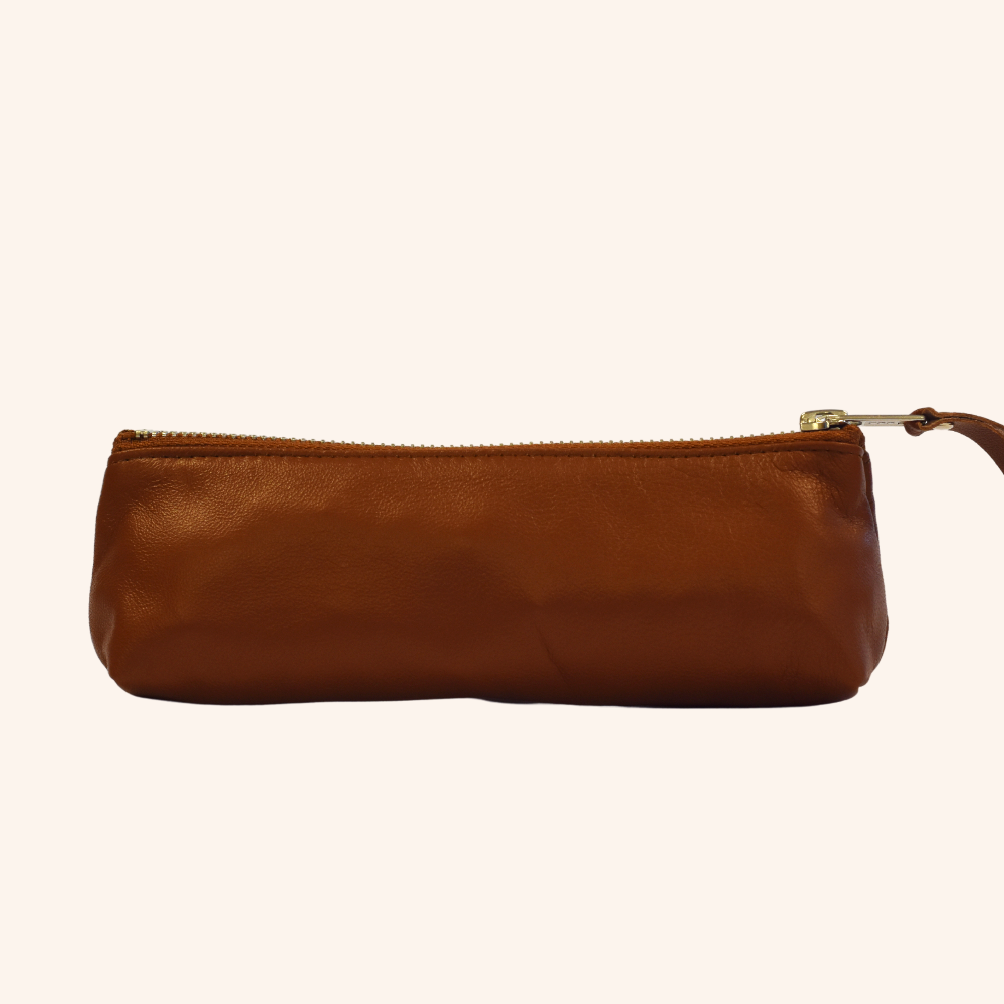 100% Genuine Leather Pouch – Natural Brown
