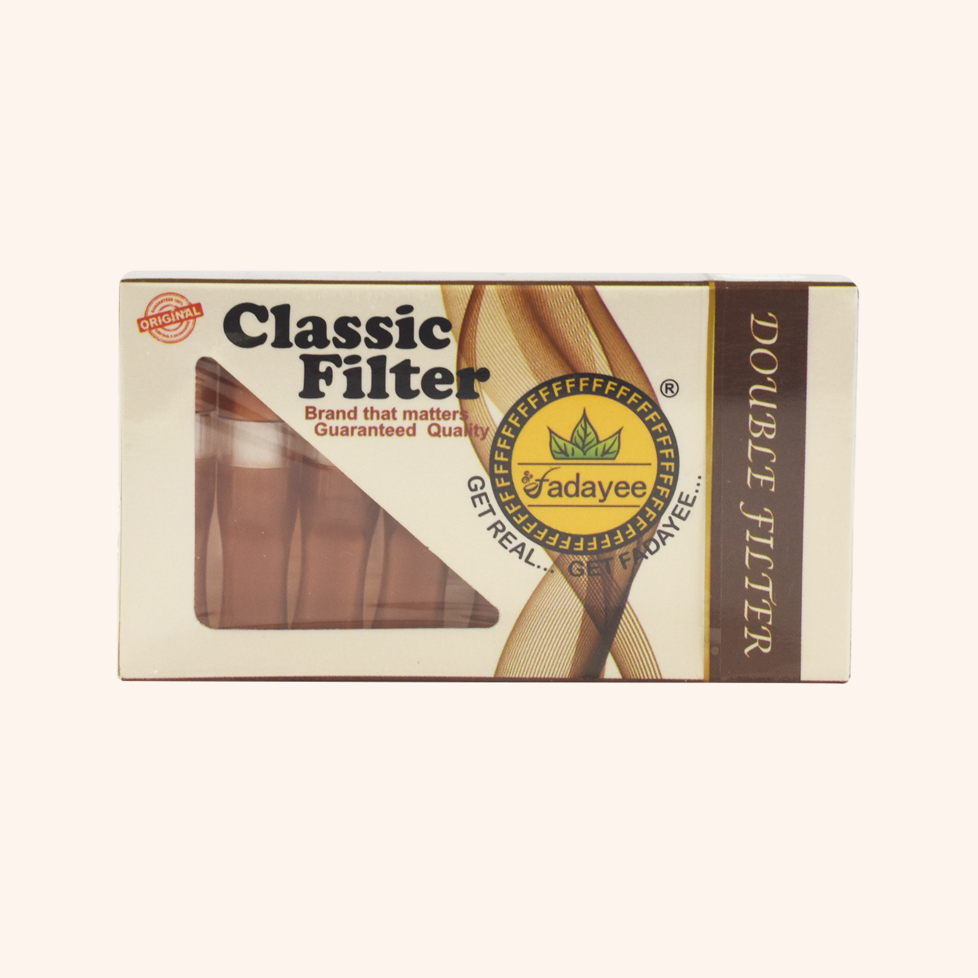 Fadayee Double Filter Classic Brown