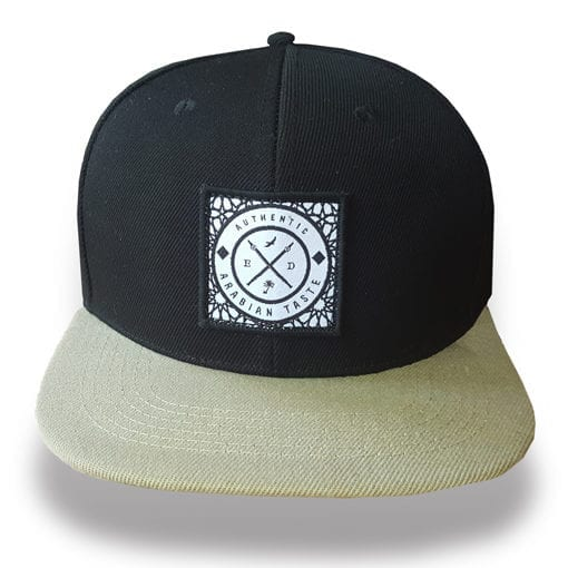 Black Authentic Snapback hat Enjoy Dokha