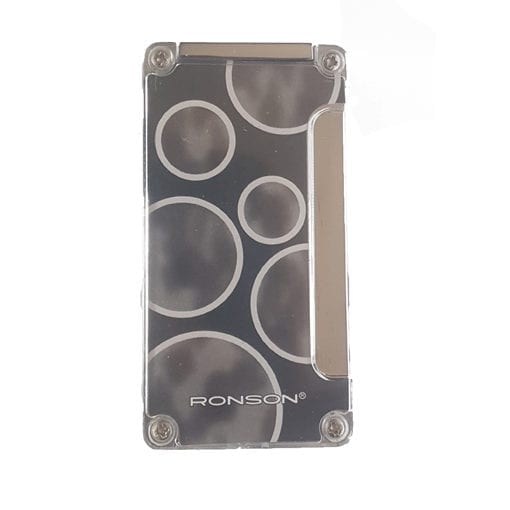 Ronson Jet Flame Windproof Lighter BS - Ronson Black Square Space Jet Flame Lighter