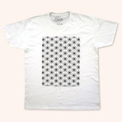Enjoy Dokha USA White Medwakh Star tshirt