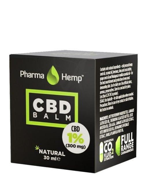 CBD Skin Balm - CBD Oils - Pharmahemp - Enjoy Dokha - UK - Packaging