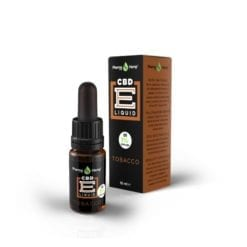 Tobacco CBD e liquid drops 1 percent by Pharmahemp - Enjoy Dokha