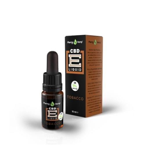 Tobacco CBD e liquid drops 1 percent by Pharmahemp – Enjoy Dokha
