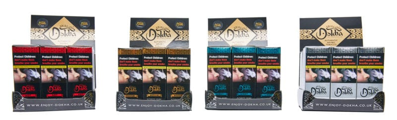 Enjoy Dokha Arabic tobacco in packaging