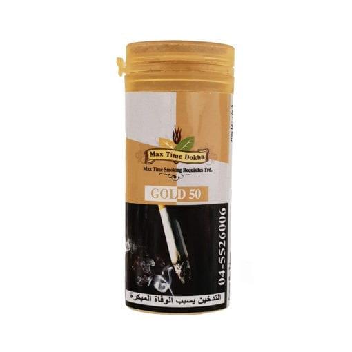 Enjoy Dokha – Max Time Gold 50 Medium Dokha tobacco – Middle Eastern Arabic Pipe Tobacco