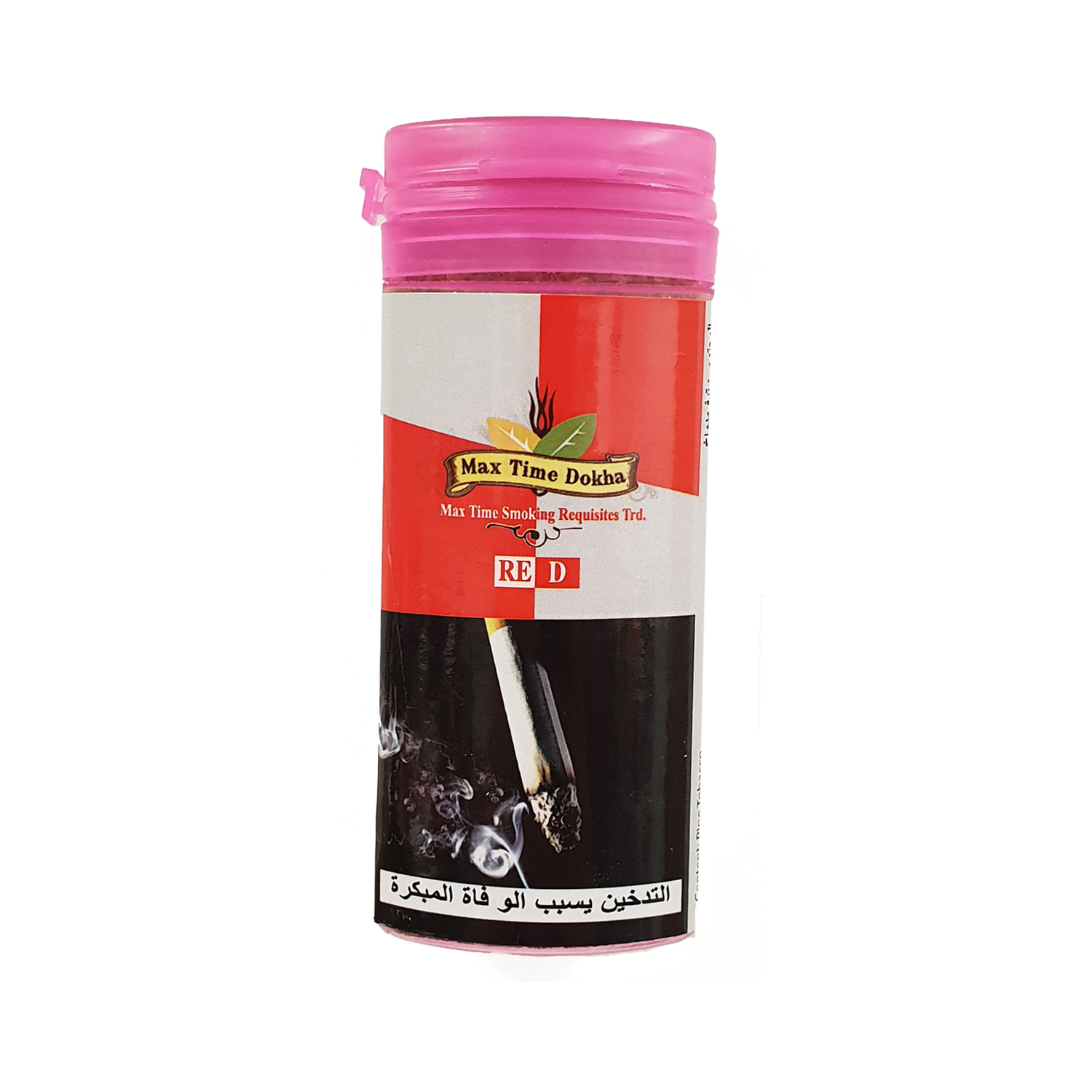 Enjoy Dokha - Max Time Red Hot Dokha tobacco - Middle Eastern Arabic Pipe Tobacco