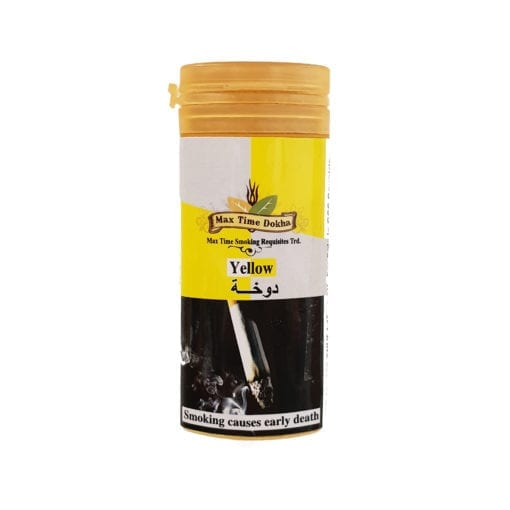 Enjoy Dokha – Max Time Yellow Medium Dokha tobacco – Middle Eastern Arabic Pipe Tobacco 2