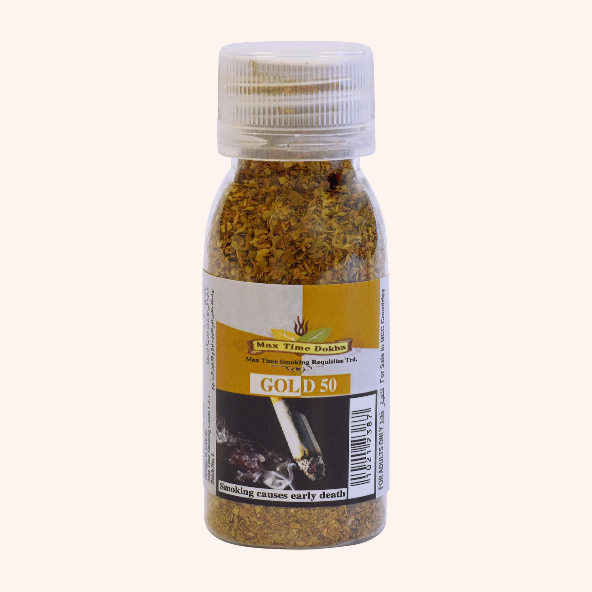 Max Time Gold 50 Medium Dokha – 50ml / 14g