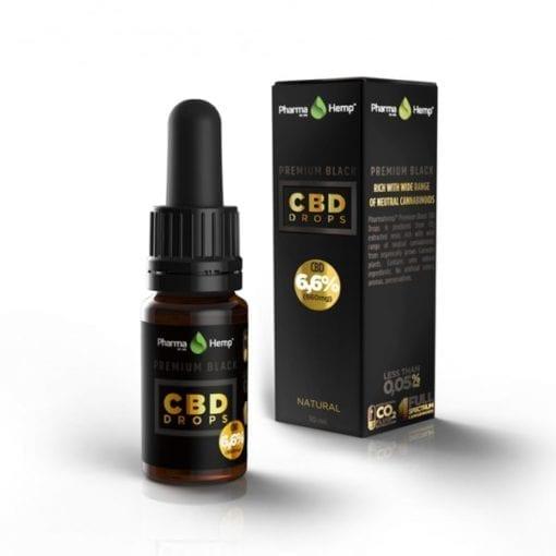 Premium Black CBD Oil 6.6% - Enjoy Dokha
