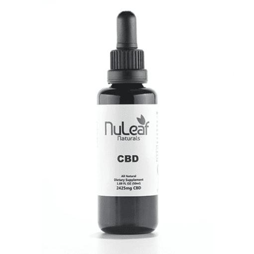 Nuleaf Naturals CBD Oil 2425mg