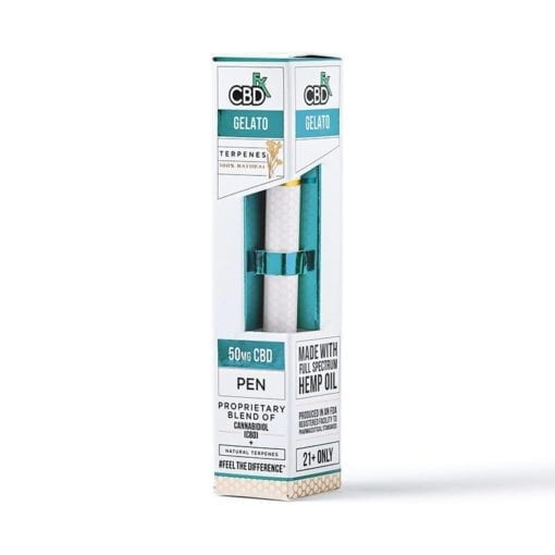 Gelato CBD Tarpenes Vape pen 50mg by CBDFX