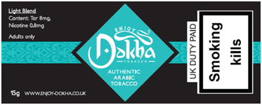 Enjoy Dokha LIght