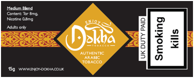 Enjoy Dokha Medium