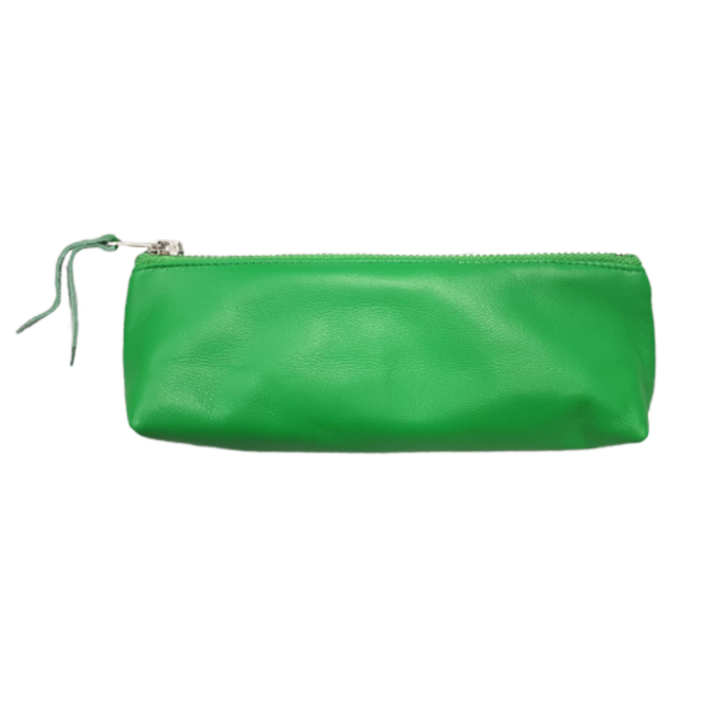 Green Leather Pouch - Enjoy Dokha