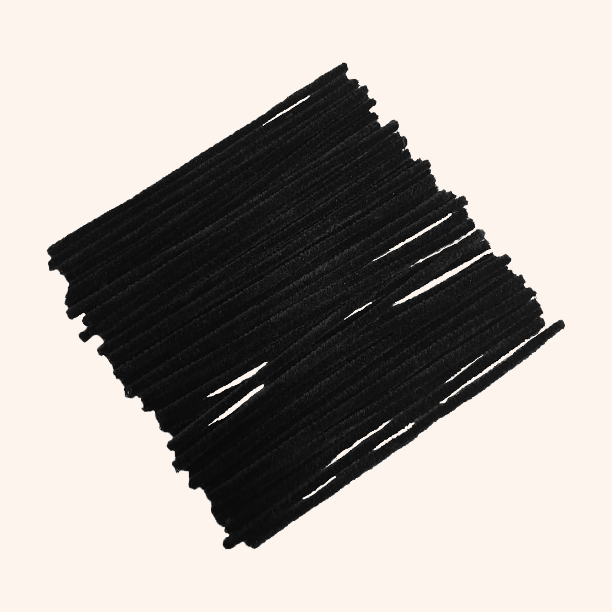 50 Medwakh Pipe Cleaners Black