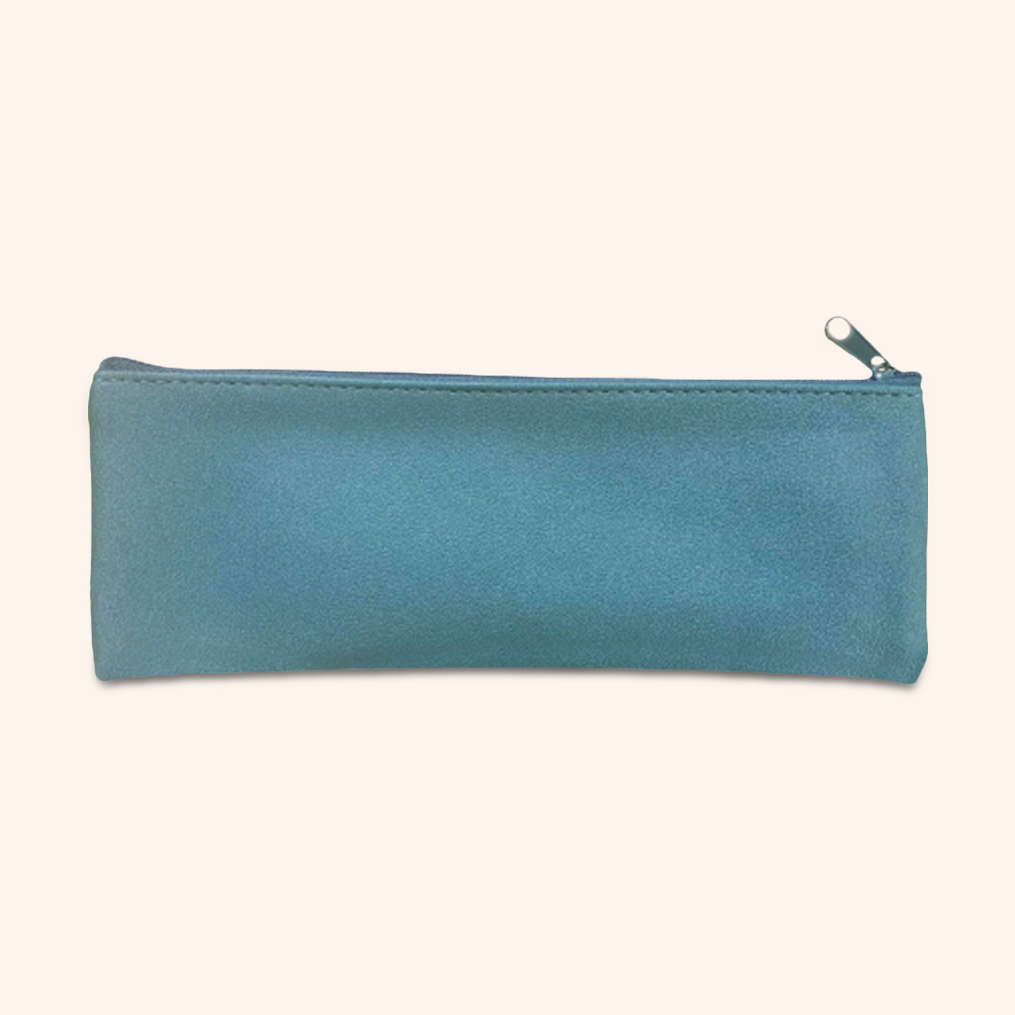 Grande Green Faux Leather Pouch